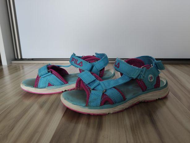Sandałki dziewczęce Fila 30