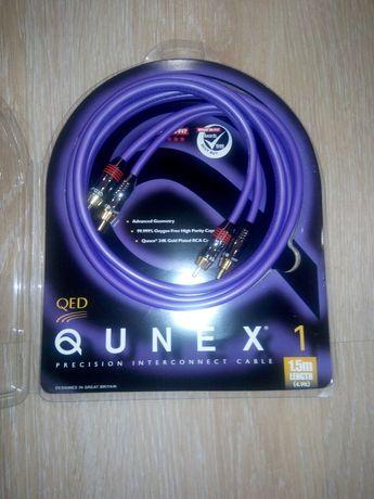 Qed Qunex 1 RCA аудио кабель .