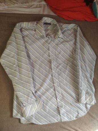 Koszula w ukośne paski