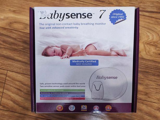 Babysense 7 gwarancja monitor oddechu dla niemowląt