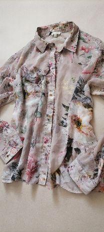 River island прозрачная красивейшая блузка размер 50