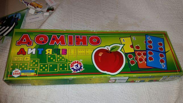 Настольна гра Дитяче доміно настольная игра Детское домино 3+