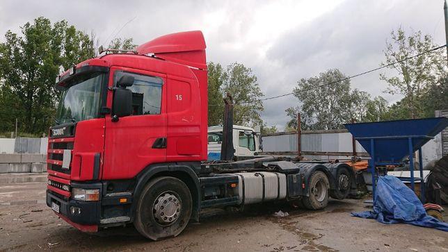 Transport odpadów kontenerem, Kp-5, Kp-7, zamów, Warszawa