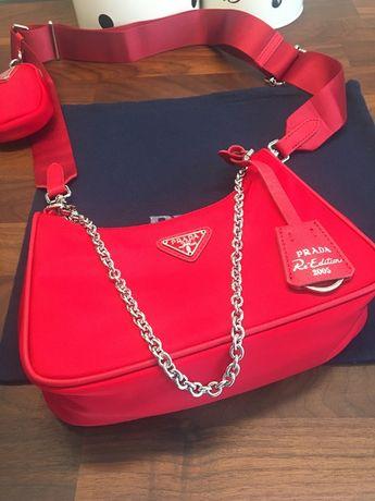 Mini torebka na ramię Prada szybka wysyłka