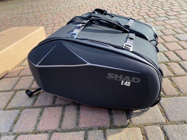 Skawy SHAD E48 z mocowaniem do Yamaha FZ8
