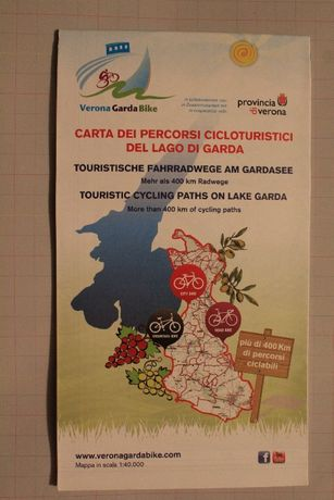 Włochy-Prowincja -Werona-Jezioro Garda-mapa-trasy rowerowe-725