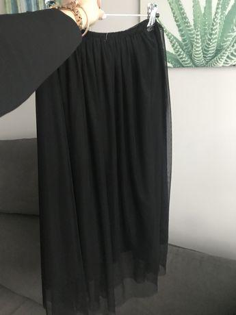 Spódnica tiulowa tiul czarna Pull&Bear