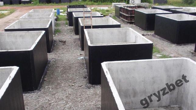 szambo betonowe, studnia wodomierzowa komora, gnojowica deszczówka 7 8