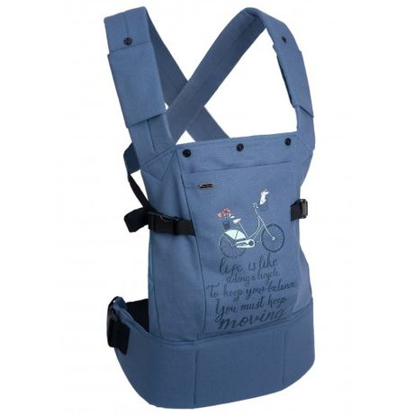Эрго-рюкзак I Love Mum Смарт, 502 голубой Велосипед