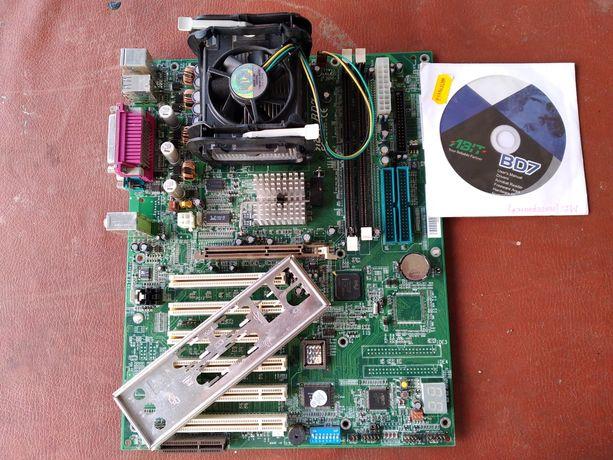 Материнская плата ABIT-BD7 с Intel Pentium 4