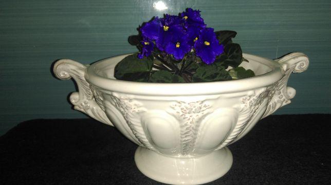 Французская керамическая ваза для цветов.Цветы в подарок.