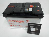 Akumulator Amega Ultra 7 6CT-75-A3, 12V 75Ah 790A
