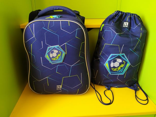 Школьный ортопедический рюкзак+ сумка для физкультуры Kite