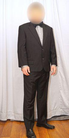 чоловічий чорний костюм Pierre Cardin Paris