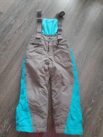 Spodnie narciarskie ocieplane chłopiec
