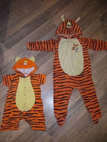 Человечек, комбинезон, писочник тигра попрыгун ,тигруля