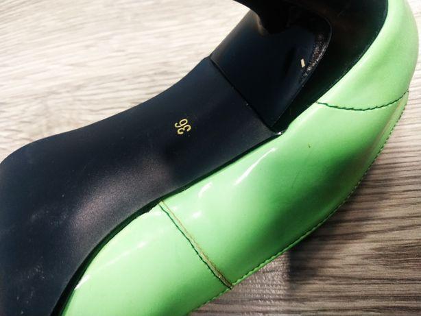 Szpilki zielone, rozmiar 36. Więcej zdjęć na priv