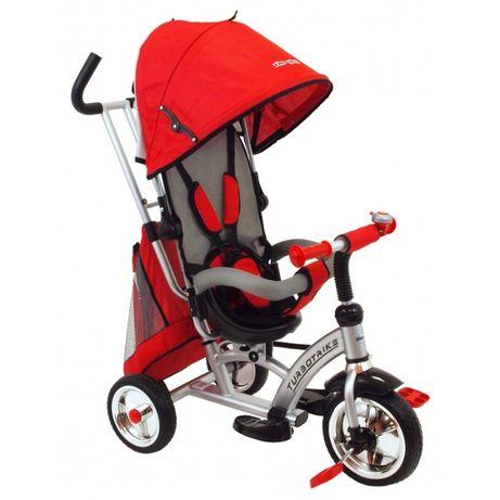BABY MIX UR-XG6026-T17 Rowerek trójkołowy czerwony 360