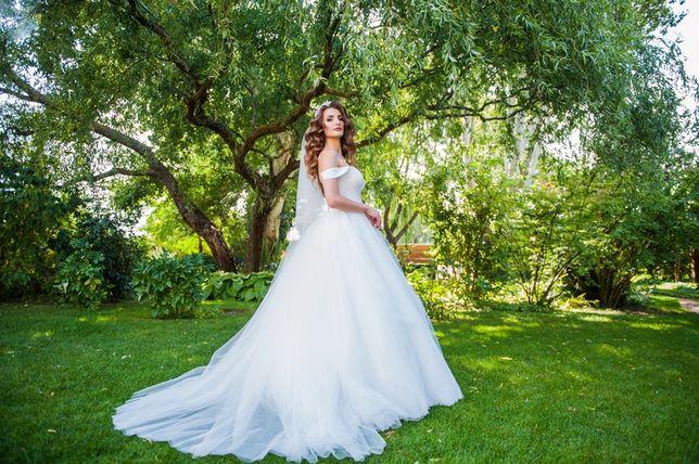 Продам свадебное платье, делается со шлейфом без