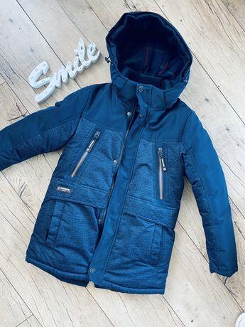 Куртка зимняя 128-134