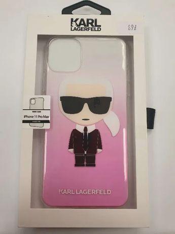 Etui KARL LAGERFELD iPhone 11 Pro Max Iconic Gradient KLHCN65TRDFKPI