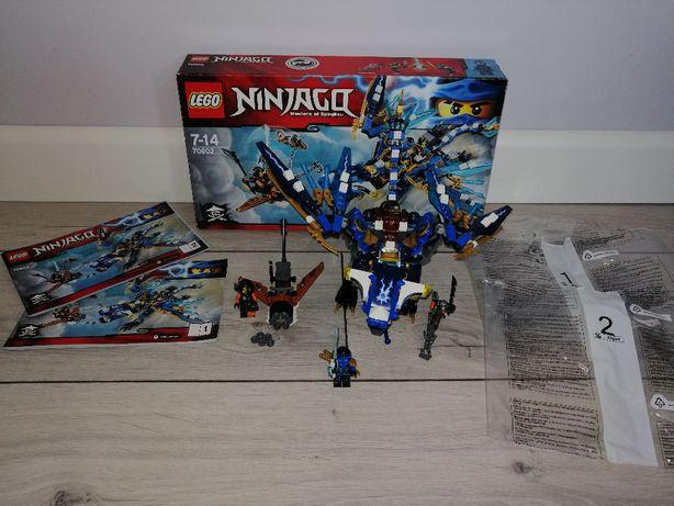Lego Ninjago 70602 Smok Jay'a. OPIS.