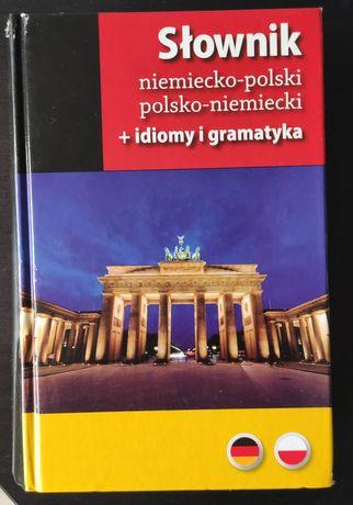 Słownik niemiecko-polski +idiomy i gramatyka
