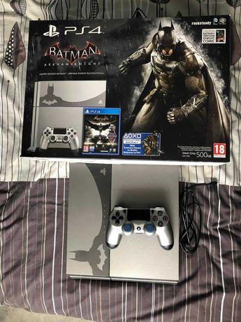 Konsola Playstation 4 500GB Batman Arkham Knight + 30 gier!
