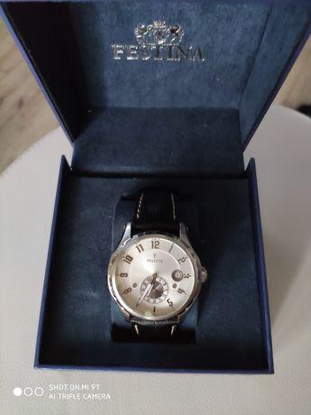 Zegarek klasyczny męski retro Festina F16486 F16586/1