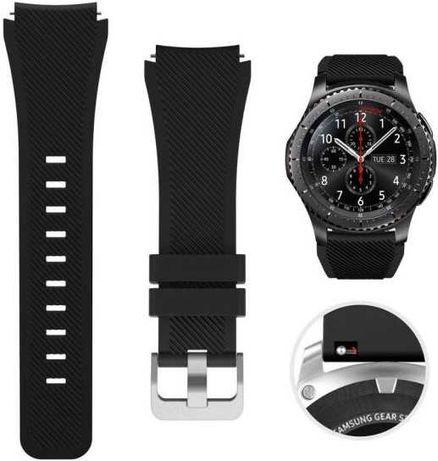 Силиконовый ремешок 22 мм Galaxy Watch 3, Gear, Huawei Watch 2 и т.д.