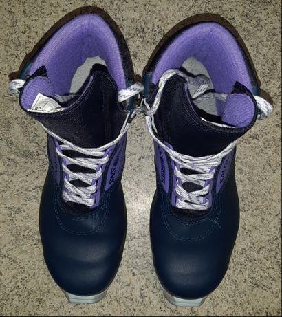 Женские лыжные ботинки для кросс-кантри Salomon 361SR