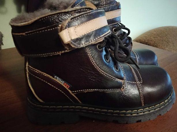 Зимові черевики 33 р. (20см.)