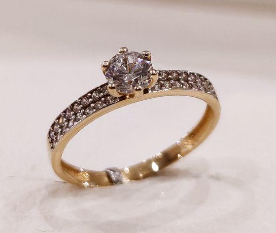 Złoty pierścionek 585 HIT!!!
