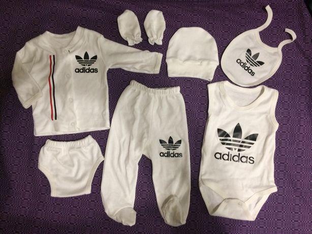 Продам набор Adidas, костюм на крещение