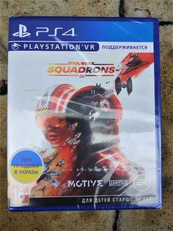 Star Wars: Squadrons. Новый Диск РS4, русский оригинал