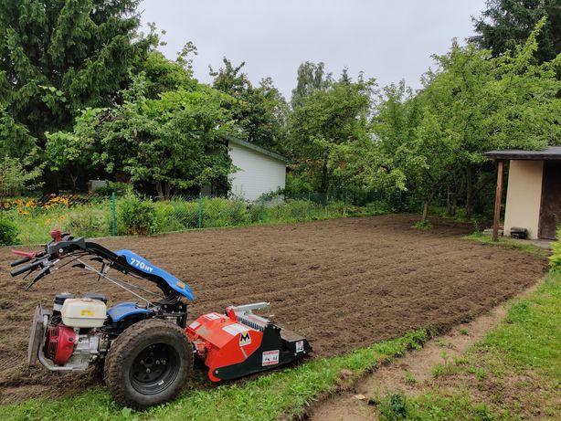 Glebogryzarka - usługi, zakładanie trawników, wertykulacja,