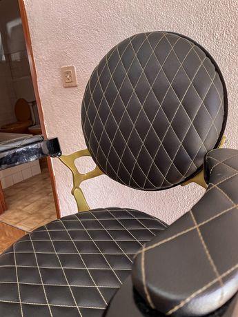 Vendo cadeira de barbeiro Santos Lisboa