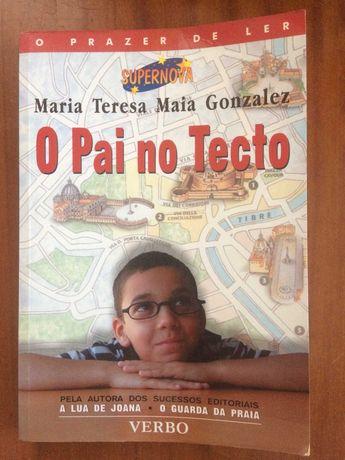 """Livro """"O Pai no Tecto"""" de Maria Gonzalez"""