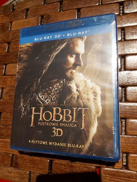 Hobbit 2d+3d blu-ray