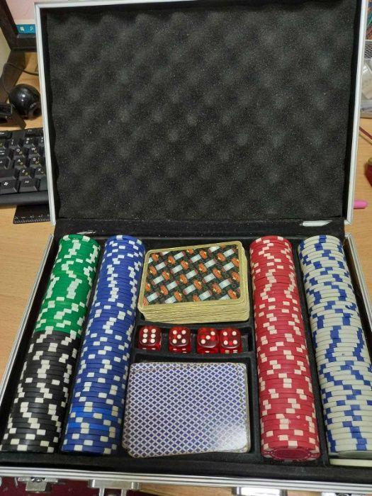 Покер в алюминиевом кейсе. Игровой набор для покера. Киев - изображение 1