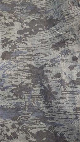 Koszula męska, letni, palmowy klimat, George, rozmiar M, krótki rękaw