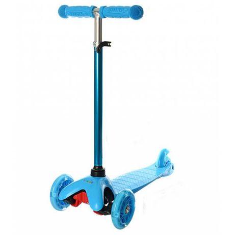 Детский трехколесный самокат iTrike BB 3-013-4-H синий