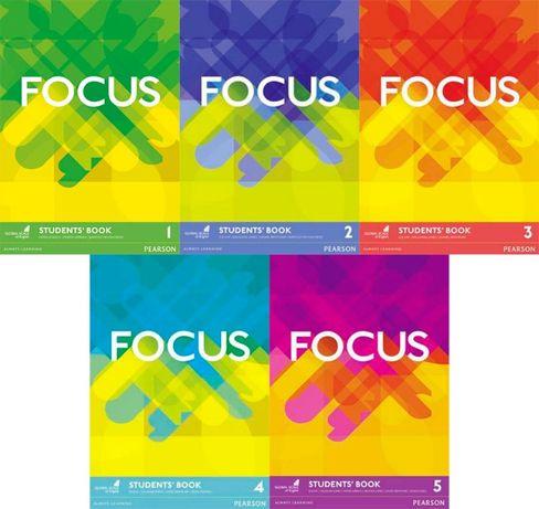 Focus 1, 2, 3, 4, 5 PDF Student Book + Workbook PDF
