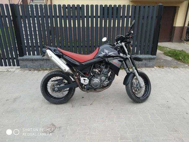 Yamaha xt 660x xt660 supermoto