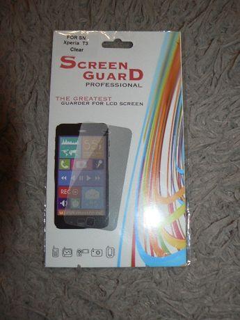 Folia z poliwęglanu na wyświetlacz Sony Xperia T3