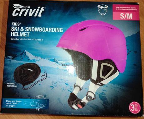 Продам новий гірськолижний шолом Crivit S/M 48-51см.