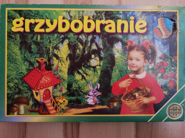 Zestaw puzzli + gra Grzybobranie