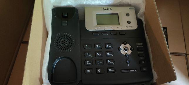 Yealink T21PE2 telefon VoIP SIP stacjonarny PoE