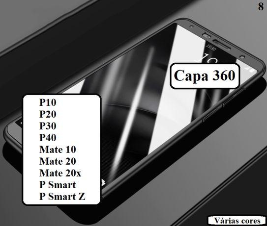 Capa 360 P10 - P20 - P30 - P40 - Mate 10 - Mate 20 - Mate 20x - P Smar