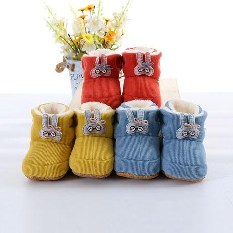 Винтажная детская обувь | Пинетки на малыша | Обувь для малыша